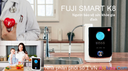 Máy Điện Giải Lọc Nước Hổ Trợ Sức Khỏe Fuji Smart 4.0